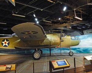 World War II B-25 Bomber - Nimitz Museum, Fredricksburg, Texas