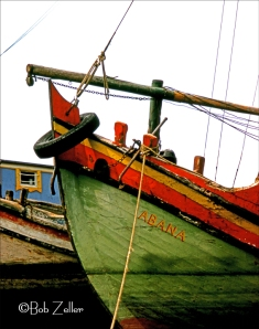 Turkish Fishing Boat  @Bob Zeller