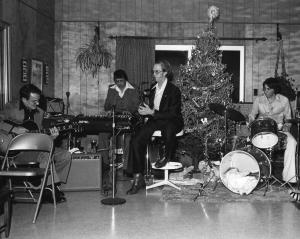 ZAP The Generation Gap L to R: B.L. Wicher, Gene Peugh, Bob Zeller, Dean Peugh.