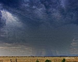 West Texax thunder storm.