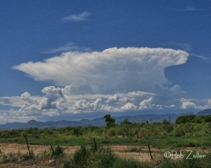 Gathering storm over the Davis Mountains of west Texas.