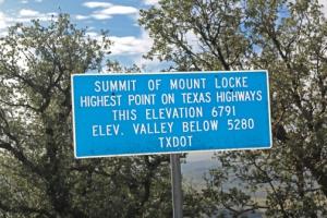 Atop Mt. Locke
