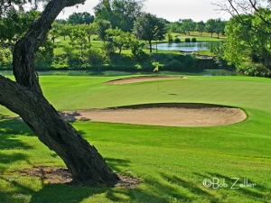 Hole number three - San Angelo Country Club