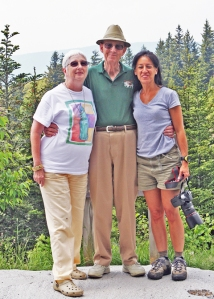 Me and my two best friends, my wife, Ann and Deb.