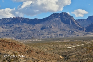 Road to the Chisos